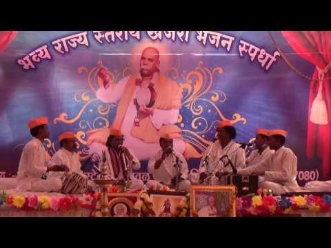 1 गुरुदेव  प्रार्थना Sakhardoh Bhajan mandal Prarthana at Tiosa Bhajan spardha 2017