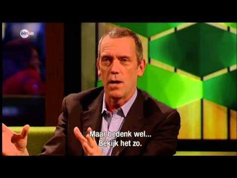 Hugh Laurie on Belgians