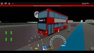 Roblox London Hackney - Limehouse bus Simulator MCV EvoSeti Volvo Hybrid TT CSG Route 25 à Cavell