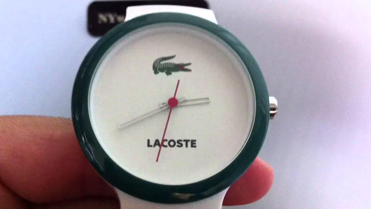 Часы лакост унисекс