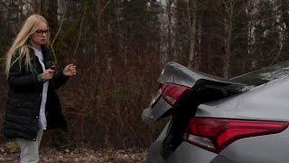 Новый Hyundai ACCENT СОЛЯРИС женский тест АВТОПАНОРАМЫ