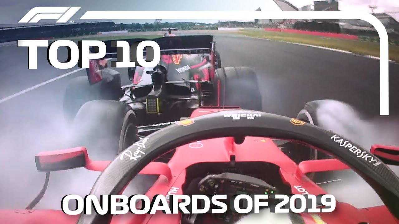 Top 10 F1 Onboards of 2019