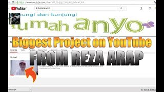 CHANNEL REZA ARROWS FOR ANYO (Biggest Project on YouTube) HOME react