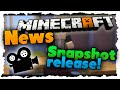 DRACHENKOPF! Snapshot Release-Datum & Minecraft MOVIE! - News