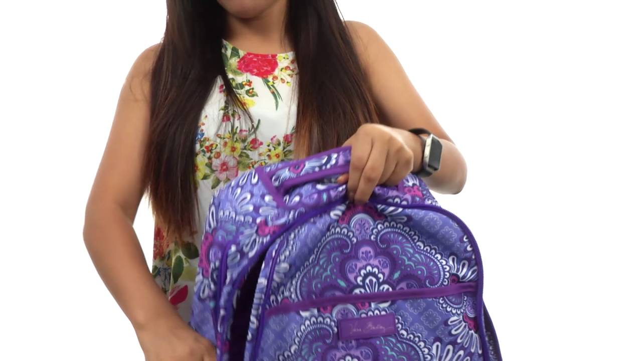 Vera Bradley Lighten Up Backpack Baby Bag Sku 8774025