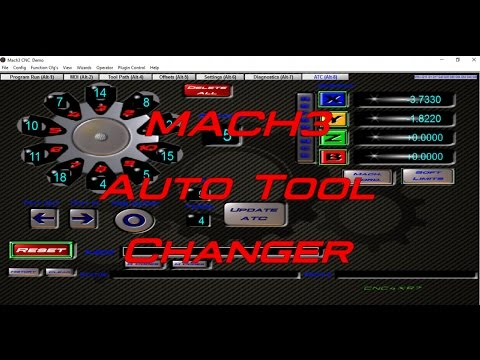Stop And Go Auto >> MACH 3 Auto Tool Changer Macro Proof of concept! - YouTube