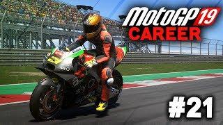 MotoGP 19 Career Mode Gameplay Part 21 - BEST AI RACE EVER! (MotoGP 2019 Game Career Mode PS4 / PC)