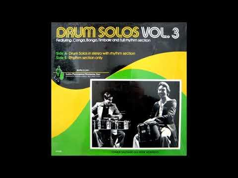 LATIN PERCUSSION VENTURES, INC: Drum Solos Vol. 3.