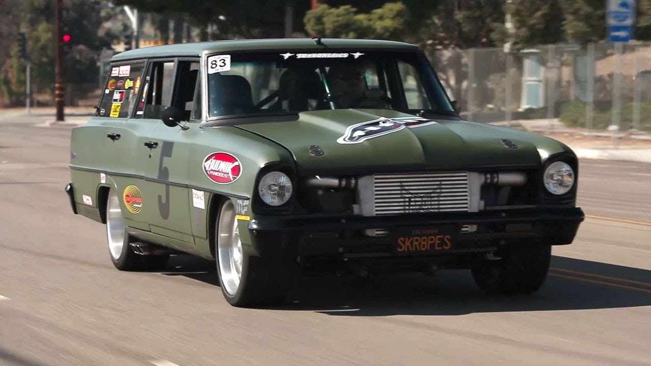 1966 Nova Wagon Tapout Terror Big Muscle Youtube