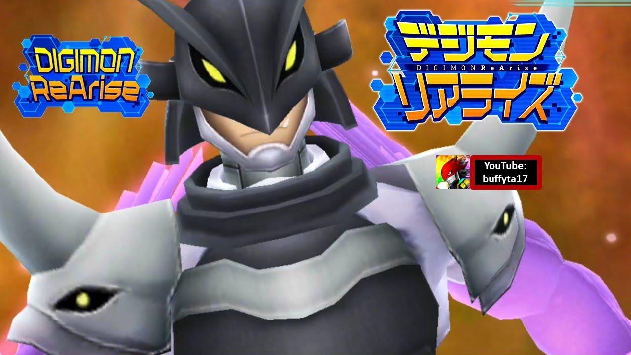 Digimon ReArise - Ravemon BM & Rosemon BM (Burst Mode