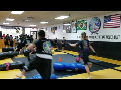 Kids II Obstacle course warm up 1