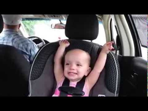 Baby Singing to Elvis Song.  Super Cute!