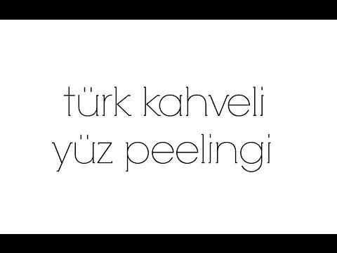 Türk Kahveli Yüz Peelingi | aycaNP Beauty