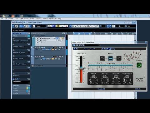 Giới Thiệu Plugin Giảm Noise ✅ Trong Project Hát Live Cubase 5