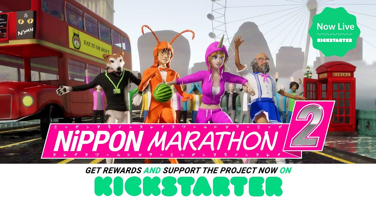 Nippon Marathon 2 Kickstarter Campaign Kicks Off TODAY