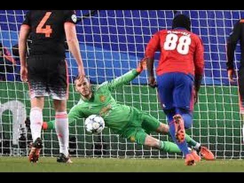 David De Gea Manchester United vs CSKA Mosku