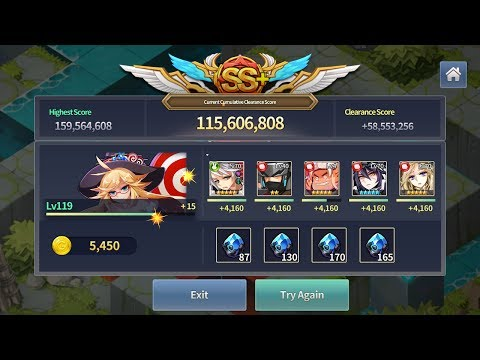 Fantasy War Tactics'R : Guild Raid Tuesday - 50M Pts - Hongyeom