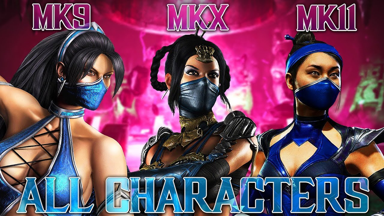 Mortal Kombat 11 All Characters Compared To Mk9 And Mkx Mk11 Full