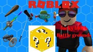 Roblox-lucky block battle grounds