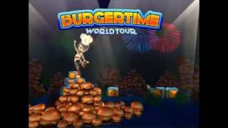 BurgerTime World Tour on WiiWare