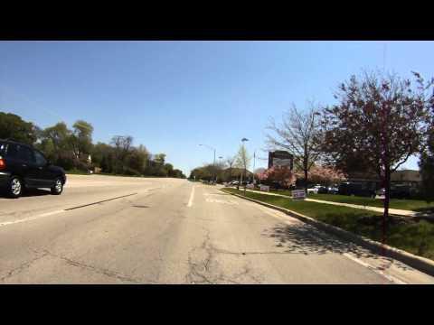 Illinois License Plate - R96 9295 -Very Close Pass