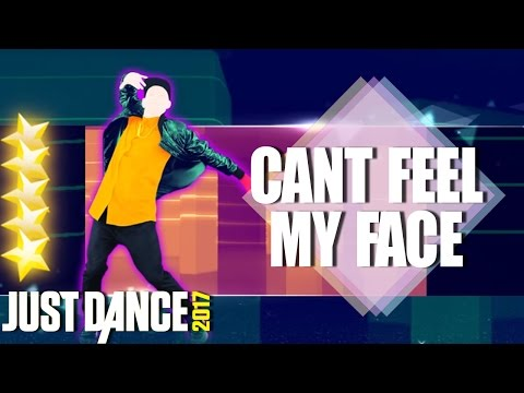 🌟 Just Dance 2017: Can't Feel My Face by The Weekn | Full gameplay 5 stars🌟
