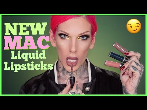 Thumbnail: MAC Spring 17' RETRO MATTE LIQUID LIPSTICKS: Review & Swatches | Jeffree Star