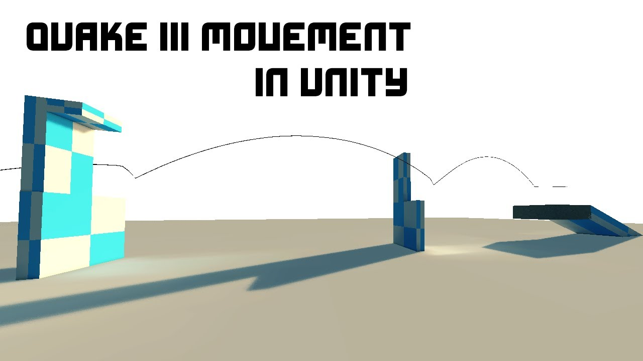 Quake III movement (Strafe jumping) in Unity [#1]