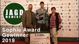 JagdMomente   Folge 14   Der Sophie Award 2019 in Berlin   Die Jagd - eine Liebe zur Natur. Video