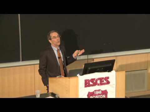 MIT Prof. John Lienhard delivering the 2016 John R. Freeman Lecture