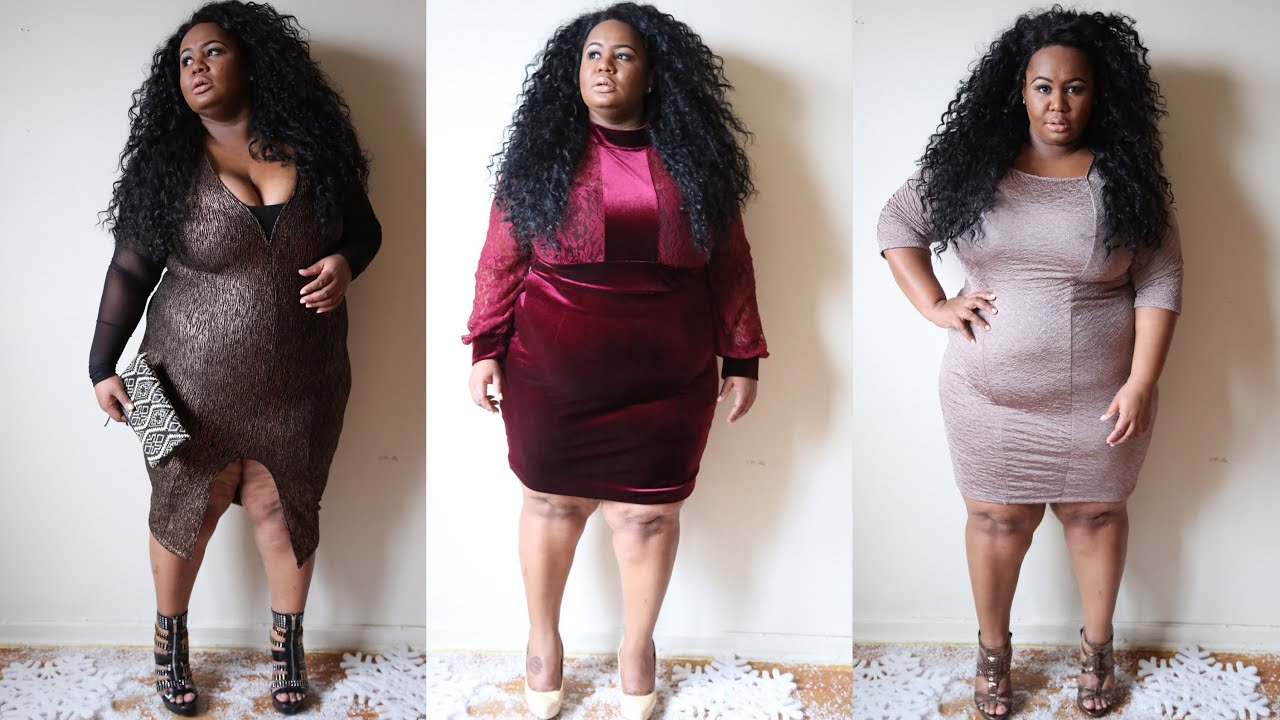 2014 plus size holiday outfits - youtube