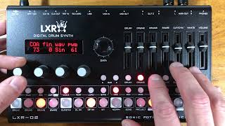 LXR - 02 Drum Synth, by Sonic Potions x Erica Synths. - Factory presets, no talking!