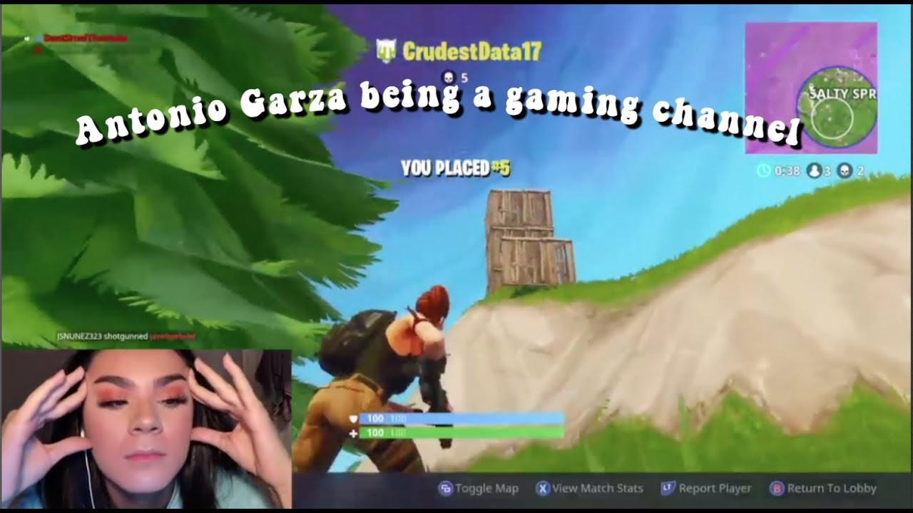 Antonio Garza being a gaming channel for 15 minutes straight