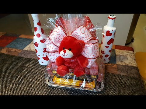 DOLLAR TREE DIY | VALENTINE'S DAY CANDY TRAY | GIFT IDEA