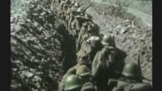WWII RARE COLOR FILM IWO JIMA 1 OF 3 MOUNT HOT ROCKS