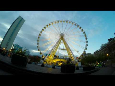 GoPro - Beetham Tower & Wheel Of Manchester Time-lapse