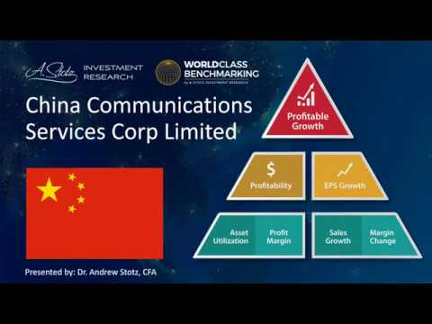 China Communications Services Corporation Limited (552 HK)