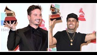 Latin Grammy 2015: Lista de Ganadores - Mana, J Balvin, Nicky Jam, Alejandro Sanz