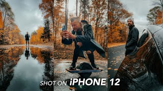 iPhone 12 & 12 Pŗo Cinematic Footage and Photos Camera Test