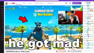 I Stream Sniped POPULAR Streamers and got BANNED on Fortnite...