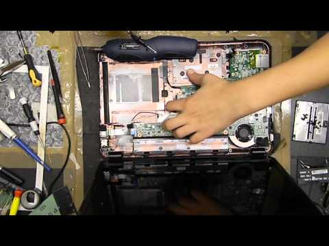 How to open and clean HP G6