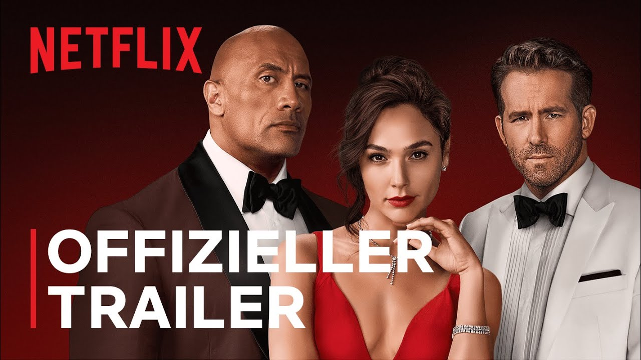 Download Red Notice   Offizieller Trailer   Netflix