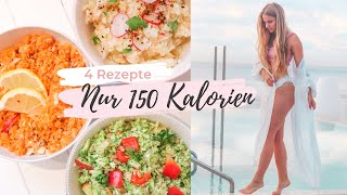 4 Rezepte unter 150 Kalorien und unter 1,50€ 😍