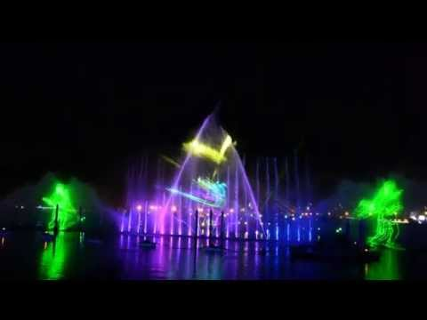 Light and Water Show 2013 - Dubai Festival City