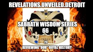 "S.W.S: 66 Pt. 1  Reviewing ""OUR"" ROYAL History."