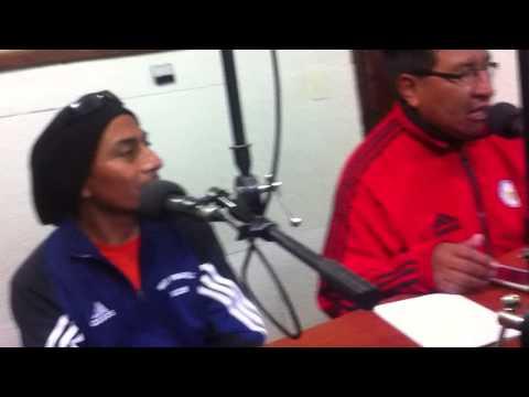 YTALO LESCANO CON  TALLO TEATRO ENTREVISTA EN RADIO TROPICANA
