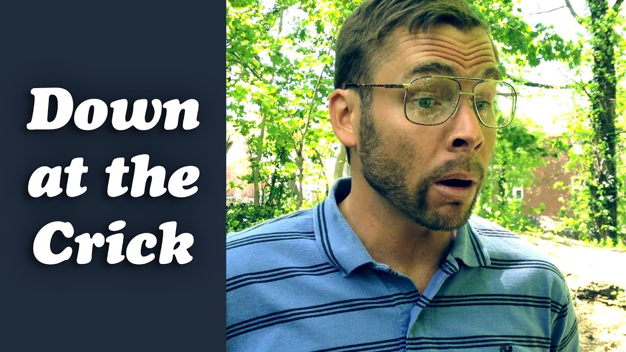 PITTSBURGH DAD: DOWN AT THE CRICK