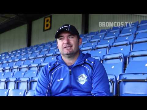 Broncos TV: Interview with head coach Joe Grima