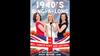 VE Day Celebration with The Bel Canto Vintage Sisters
