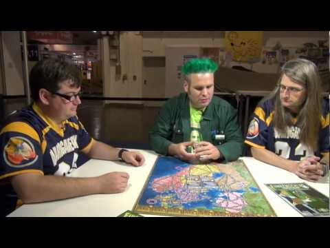 Power Grid: Northern Europe/United Kingdom & Ireland Overview - Spiel 2012
